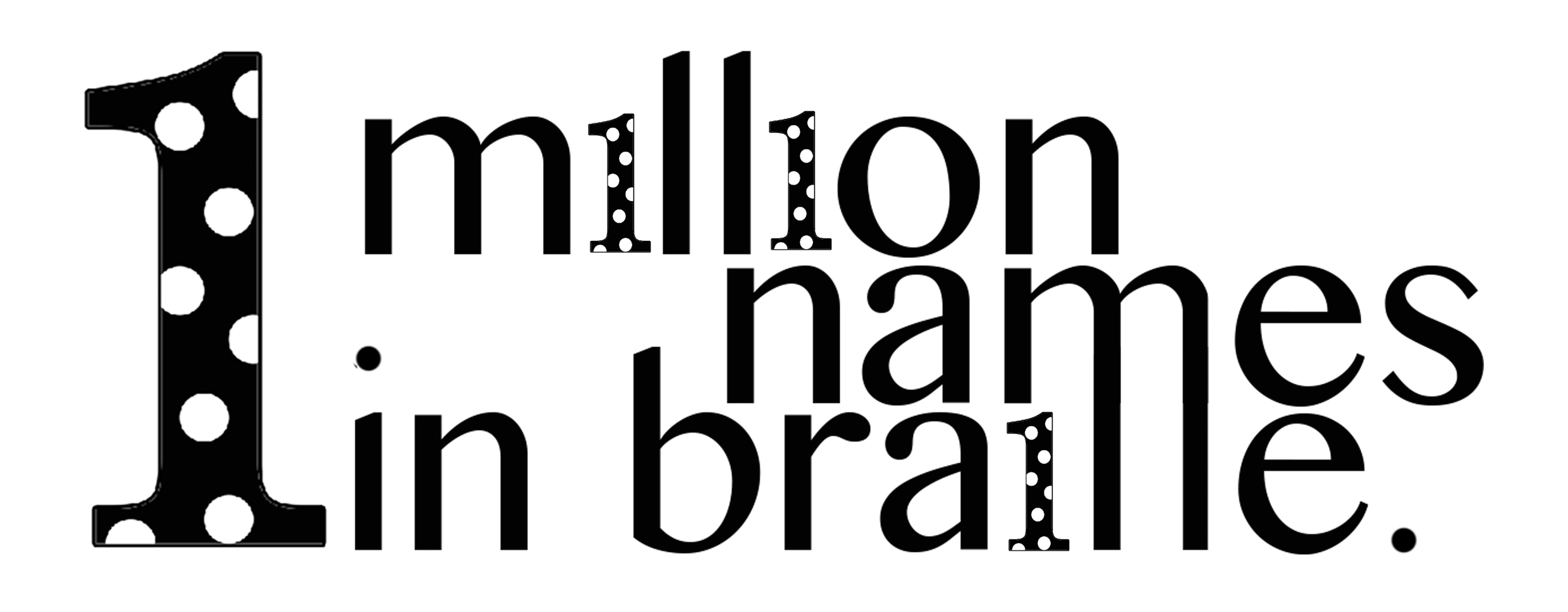1 million names in braille | That Blind Woman NZ